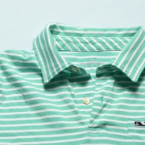Vineyard Vines, striped collared shirt w/pocket